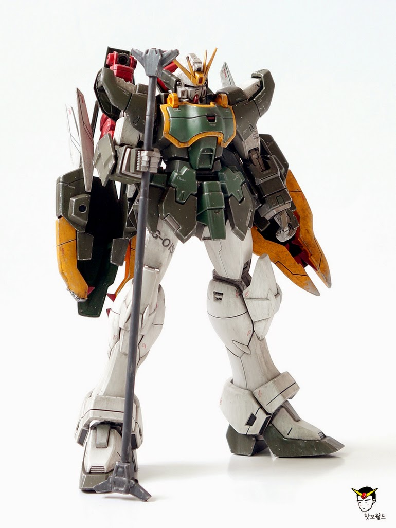 "Custom Build: MG 1/100 Shenlong Gundam ""Nataku Conversion ..."