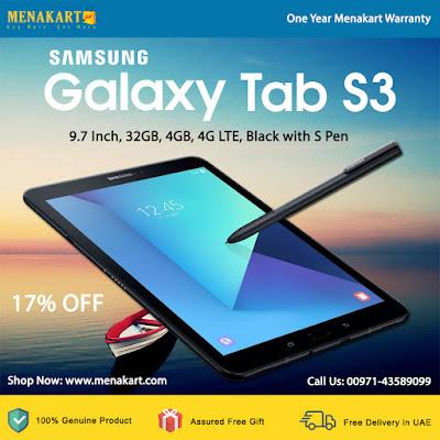 Samsung Galaxy Tab S3 SM-T825 - 9.7 Inch, 32GB