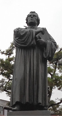 monumento a Lutero en Eisenach