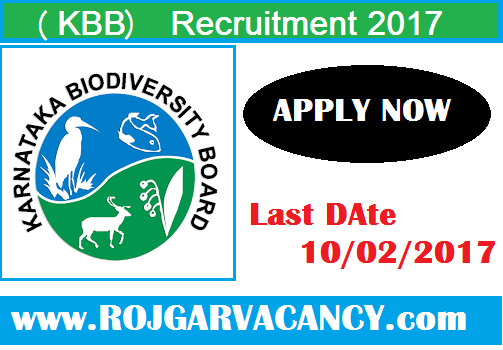 various-finance-assistant-karnataka-Karnataka-Biodiversity-Board-Recruitment-2017