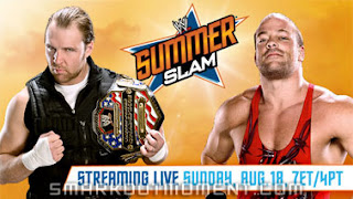 Kickoff SummerSlam 2013 RVD wins United States Championship Dean Ambrose