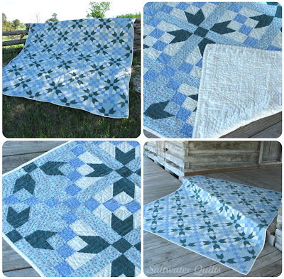 Traditional Quilt | Road to Oklahoma | © Saltwater Quilts 2012