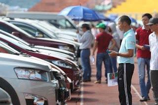 Thủ tục và cách tính phí trước bạ ô tô cũ 2018