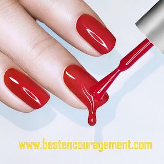 red nail arts