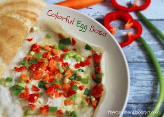 Different Egg Dosa Recipe