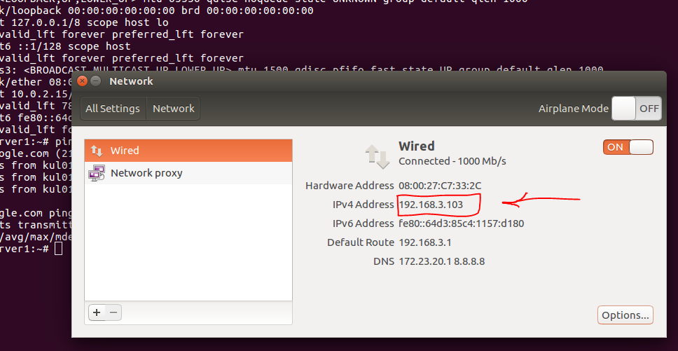 Ubuntu Ip Command