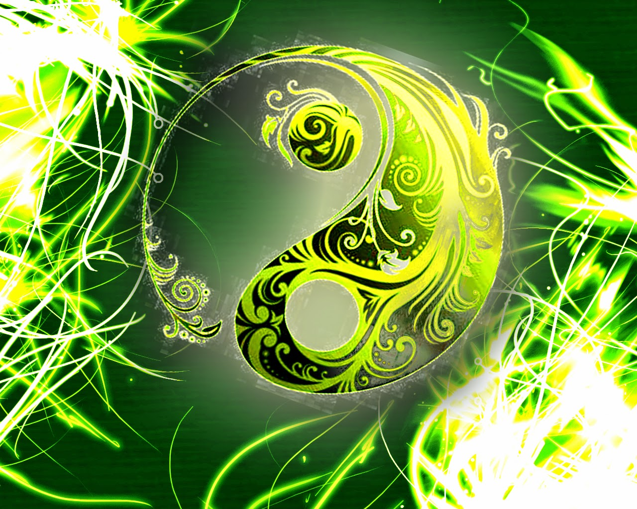Zen Relaxation Backgrounds: Yin And Yang