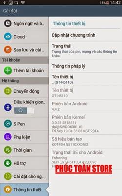 Tiếng Việt Note 8.00 n5110 done alt