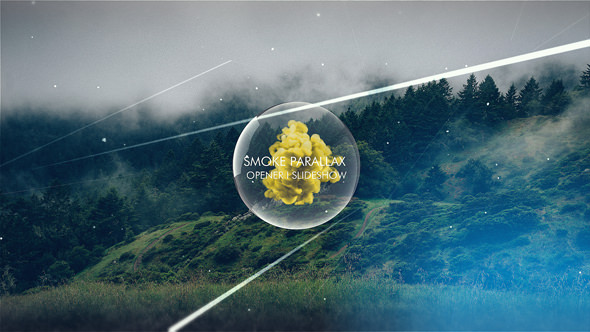 Smoke Parallax Opener I Slideshow Free After Effects - After effects templates free download cs6