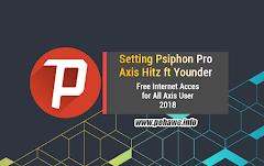 Cara Menggunakan Psiphon Pro Axis Hitz 2018