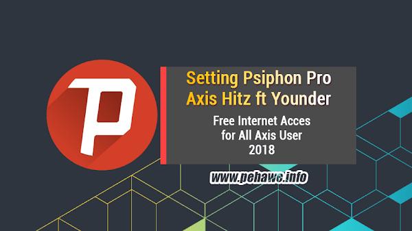 Cara Menggunakan Psiphon Pro Axis Hitz 2019