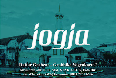 Cara Daftar Grabcar Grabbike Yogyakarta
