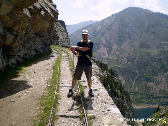 Ruta del Carrilet,Parque Nacional de Aigüestortes, Lleida
