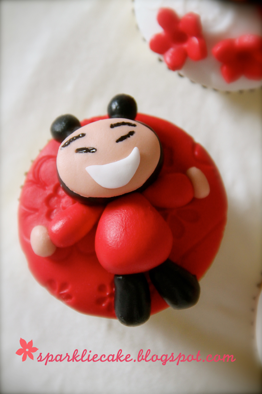 Sparklie Cake Puca Puca Cupcake