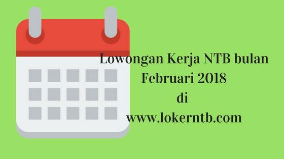 Lowongan Kerja Nusa Tenggara Barat terbaru 14 Februari 2018