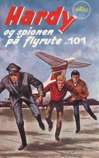 Hardyguttene og spionen på flyrute 101
