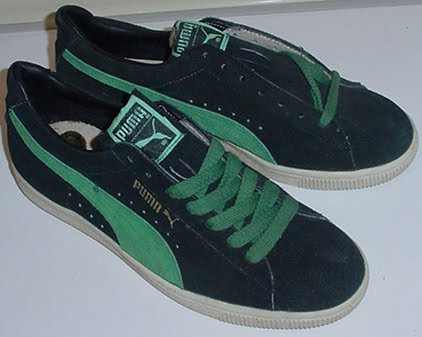 d7e207eb Puma Trainers - colourways and variations: Puma Suede - black and green