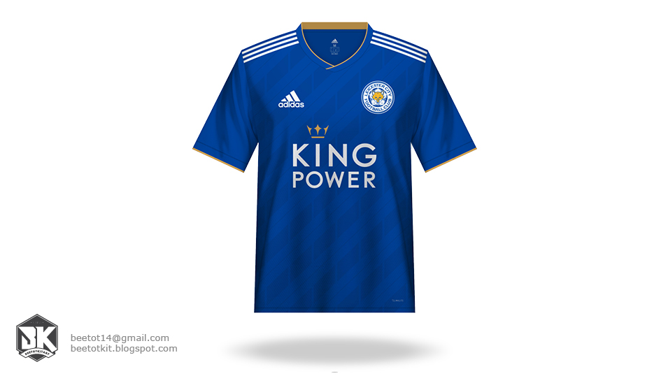 new concept 3e439 ad595 Beetot Kit: Leicester City Kit 1819