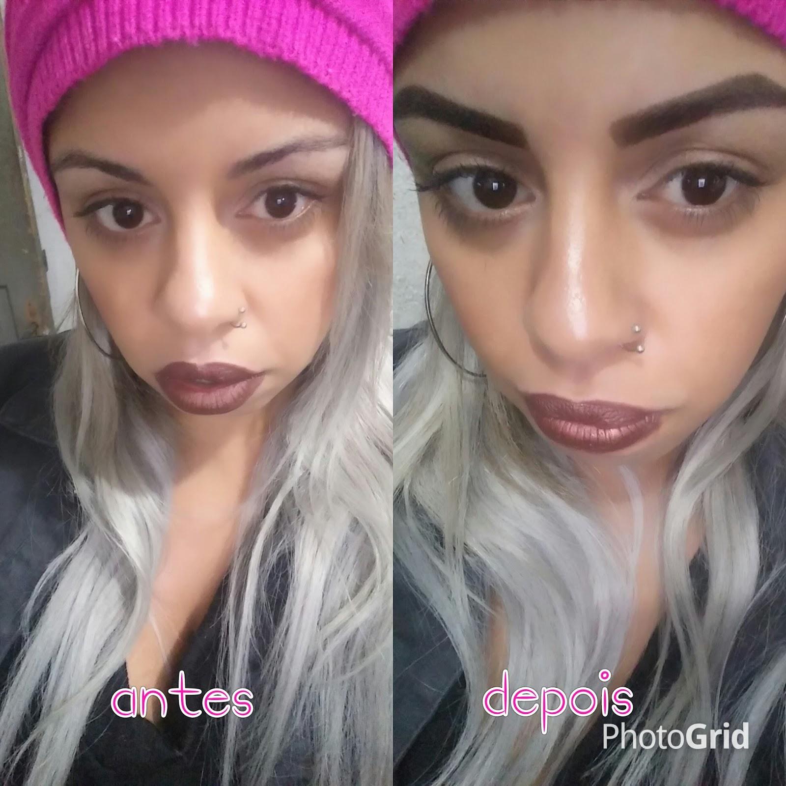 Tamara MakeUp De Diva Design De Sobrancelhas Com Henna