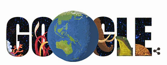 Google Doodle - Dia da Terra - Questionário do Dia da Terra