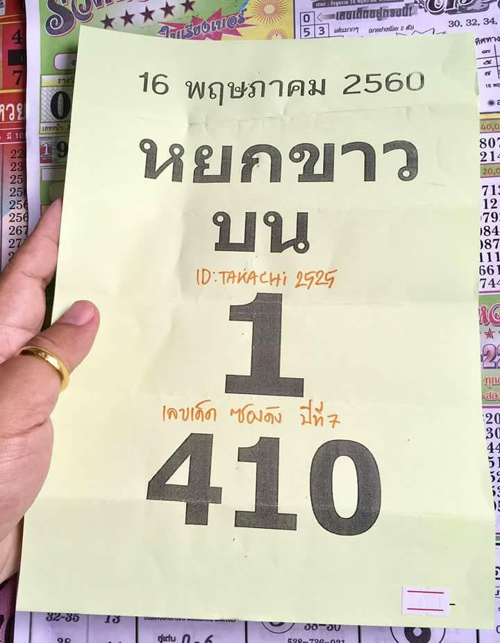 thai lotto joker