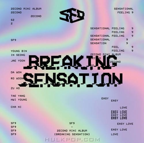 SF9 – SF9 2nd Mini Album `Breaking Sensation` (ITUNES PLUS AAC M4A)