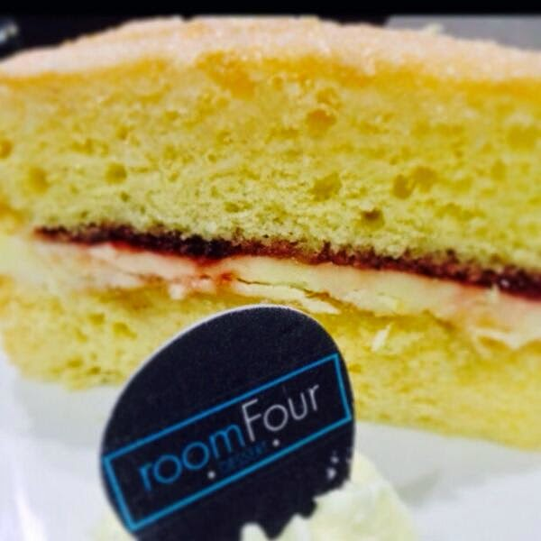 Room Four Dessert logo wafer