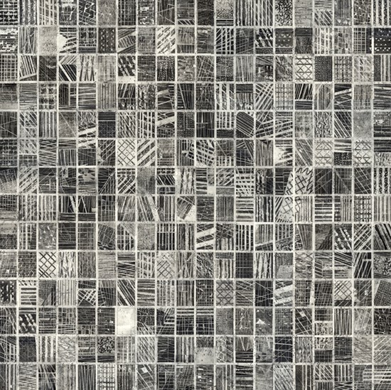Stephan van den Burg  Untitled (flatgrid5), 2013 pencil and tape on paper 40 x 40 cm