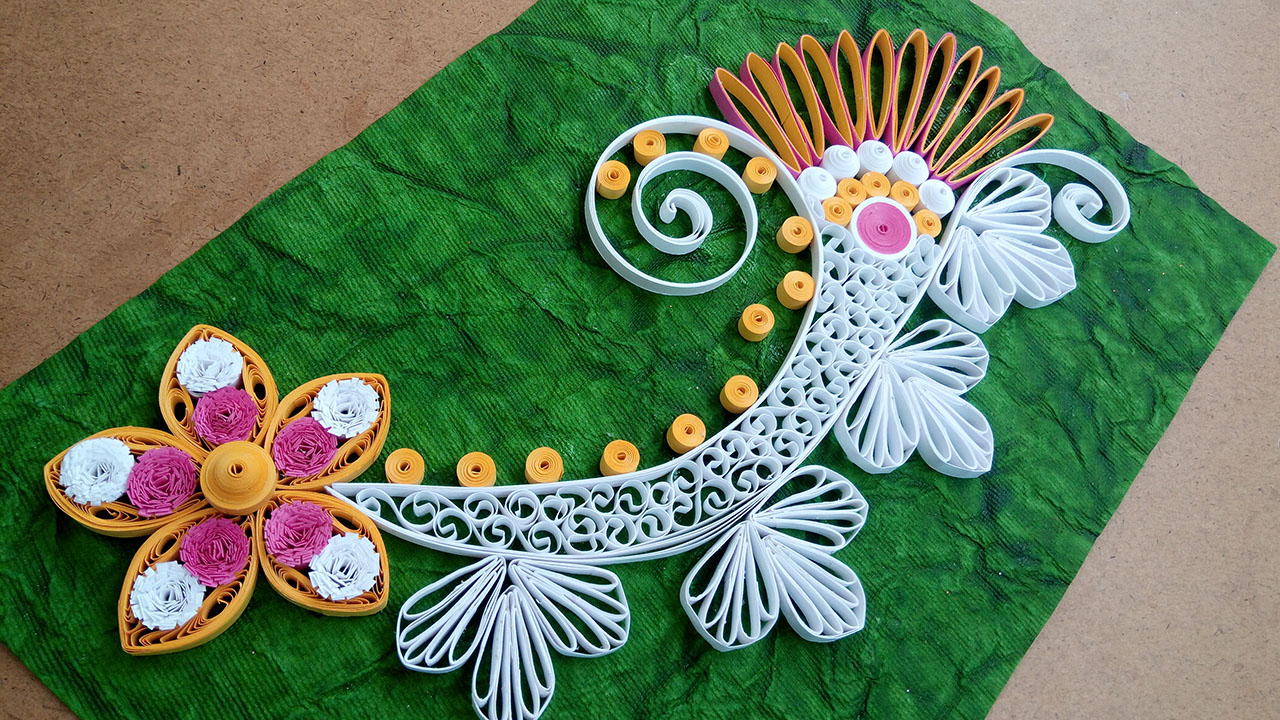 Paper Quilling How To Make New Model Design Quilling Flower