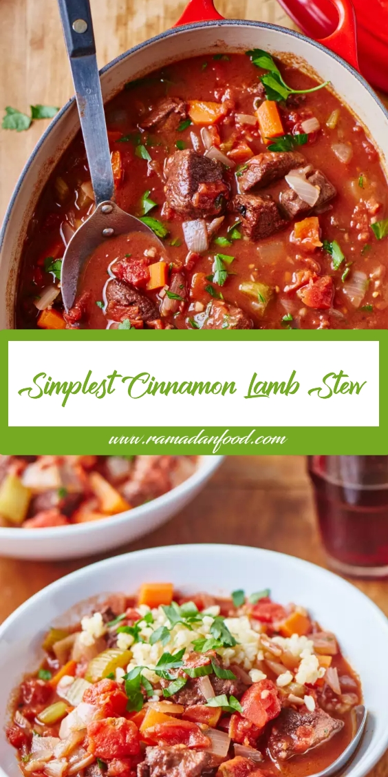 Simplest Cinnamon Lamb Stew