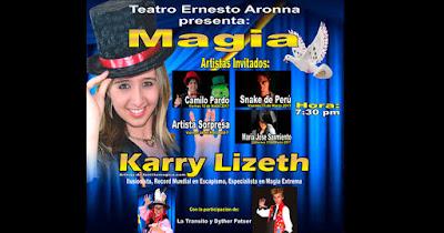 MAGIA CON KARRY LIZETH