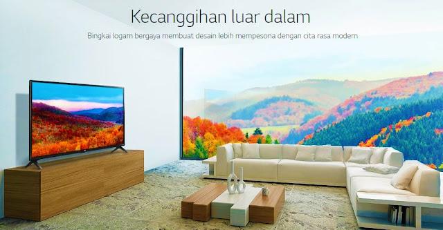 Harga dan Spesifikasi TV LED LG 43LK5000PTA 43 inch FULL HD