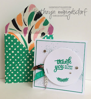 Stampin' Up! Mixed Borders, 2016-18 In Colors created by Kathryn Mangelsdorf