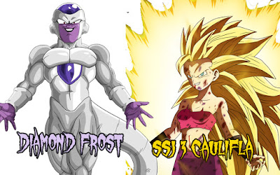 Caulifla SSJ3 dan Diamond Frost?
