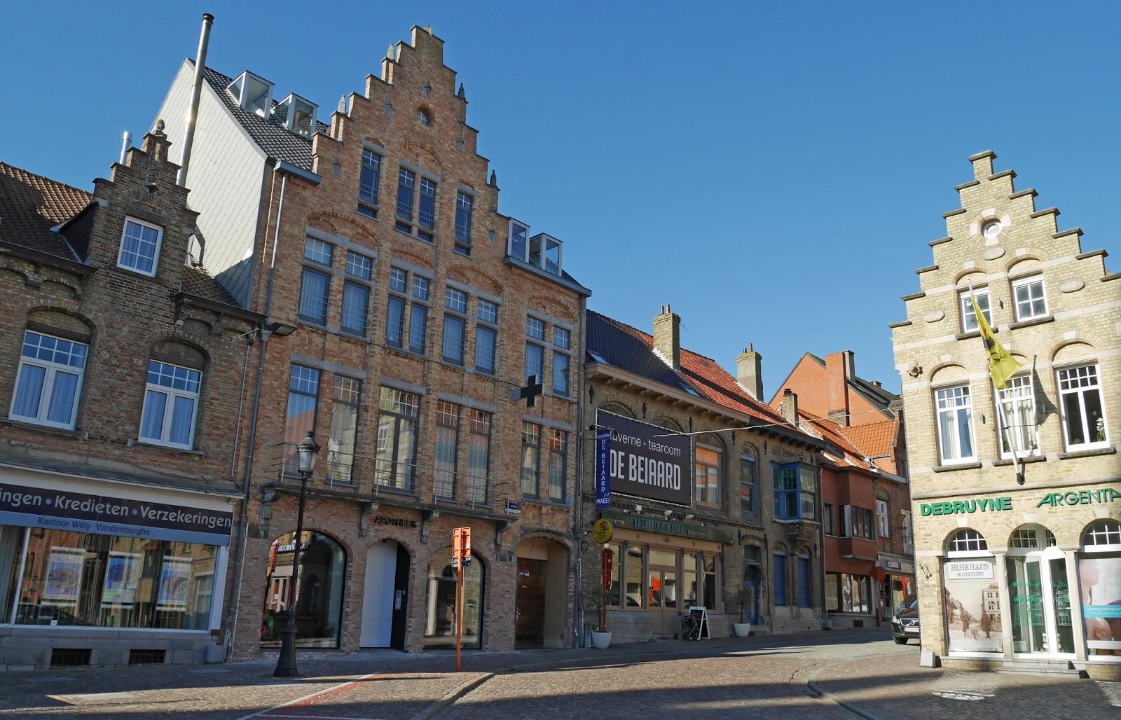 Architecture in Nieuwpoort, Belgium
