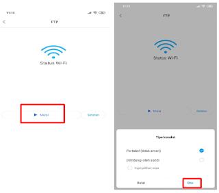 Cara Transfer FIle Menggunakan FTP di HP Android Xiaomi