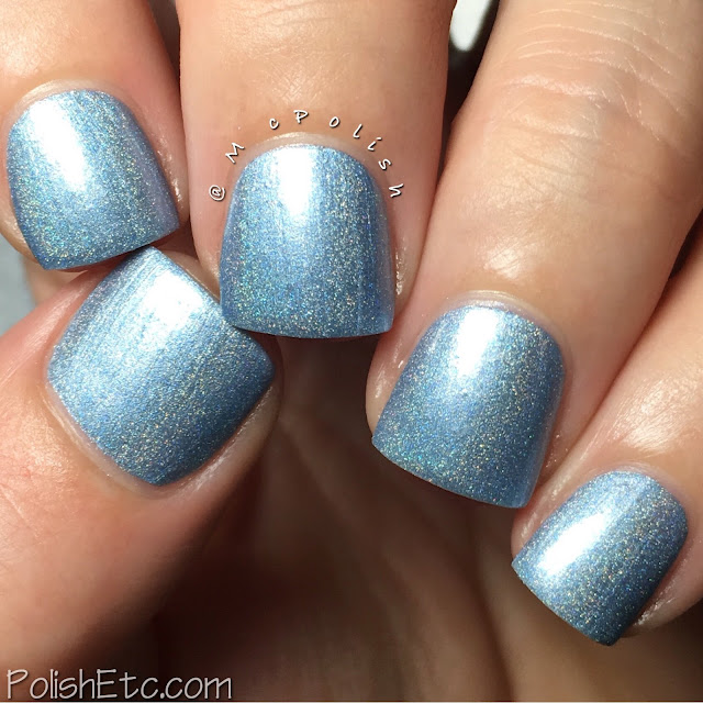 Nine Zero Lacquer - Men of Letters Collection - McPolish - Stolen Grace