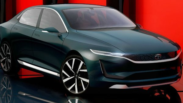 Tata Evision Electric Concept Sedan Car