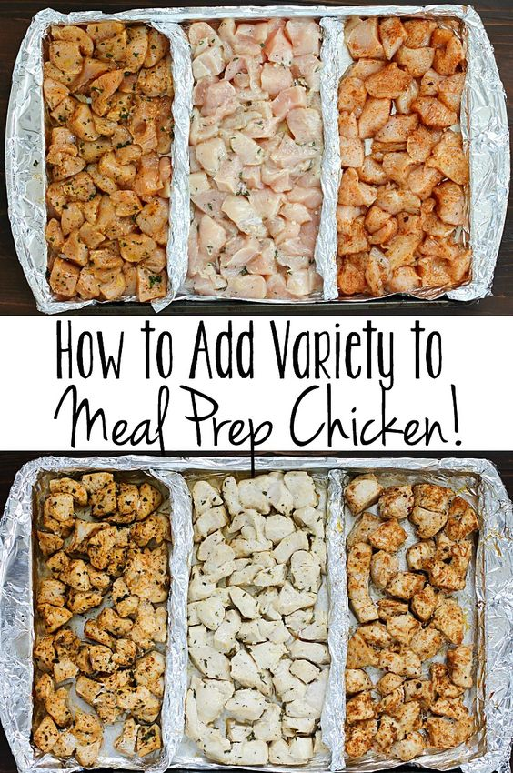 HOW TO ADD VARIETY TO MEAL PREP CHICKEN! #howto #variety #meal #prep #chicken #chickenrecipes #healthy #healthyrecipes #healthyfood