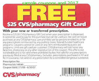 Cvs Pharmacy coupons april 2017