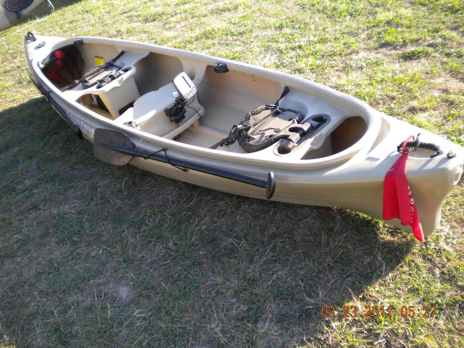 Justin And Fish: Mad River Canoe Fishing Setup