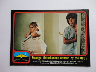 Close Encounters Of The Third Kind Topps Cards