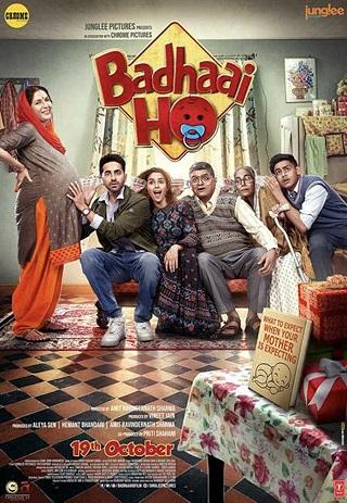 Badhaai Ho 2018 Hindi 850MB WEB-DL 720p