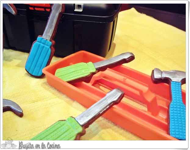 Galletas Herramientas Para Papá Brujita En La Cocina