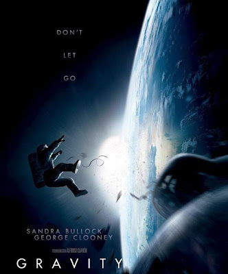Poster Of Free Download Gravity 2013 300MB Full Movie Hindi Dubbed 720P Bluray HD HEVC Small Size Pc Movie Only At worldfree4u.com