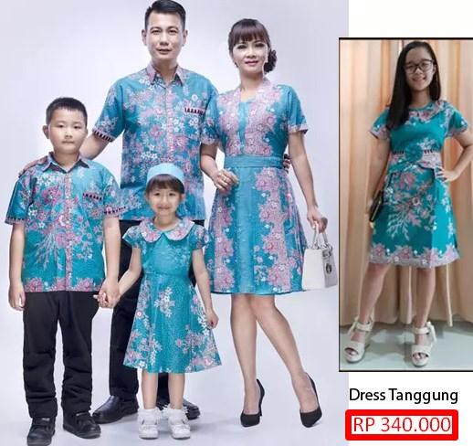 Model Baju Batik Terbaru Untuk Keluarga Model Batik 2019