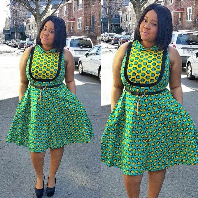 Ankara, African, dresses, Designs ,teens