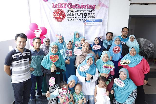 exchange feed group, kelab blogger ben ashaari