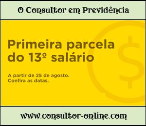 Previdência Social antecipa em Agosto parte do 13º ano 2016.