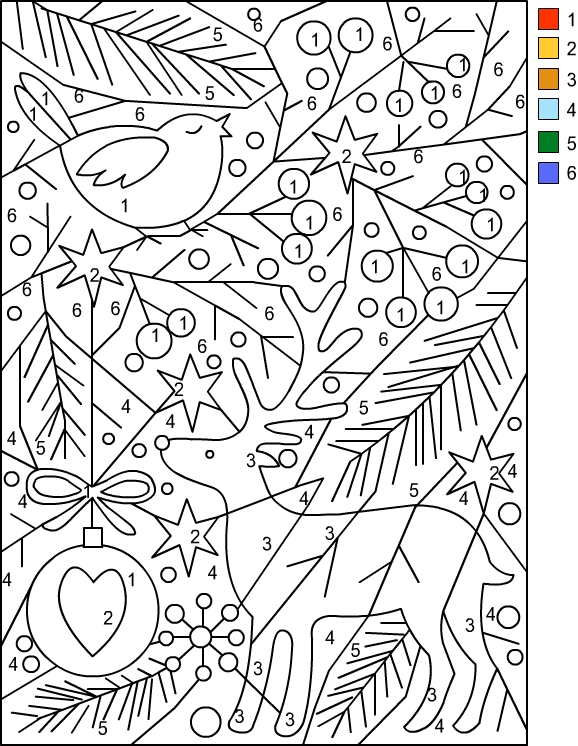 Nicole 39 s free coloring pages spring plum tree flowers for Color by number flower coloring pages